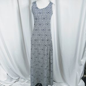 Lularoe Dani Maxi Geometric Print tank dress